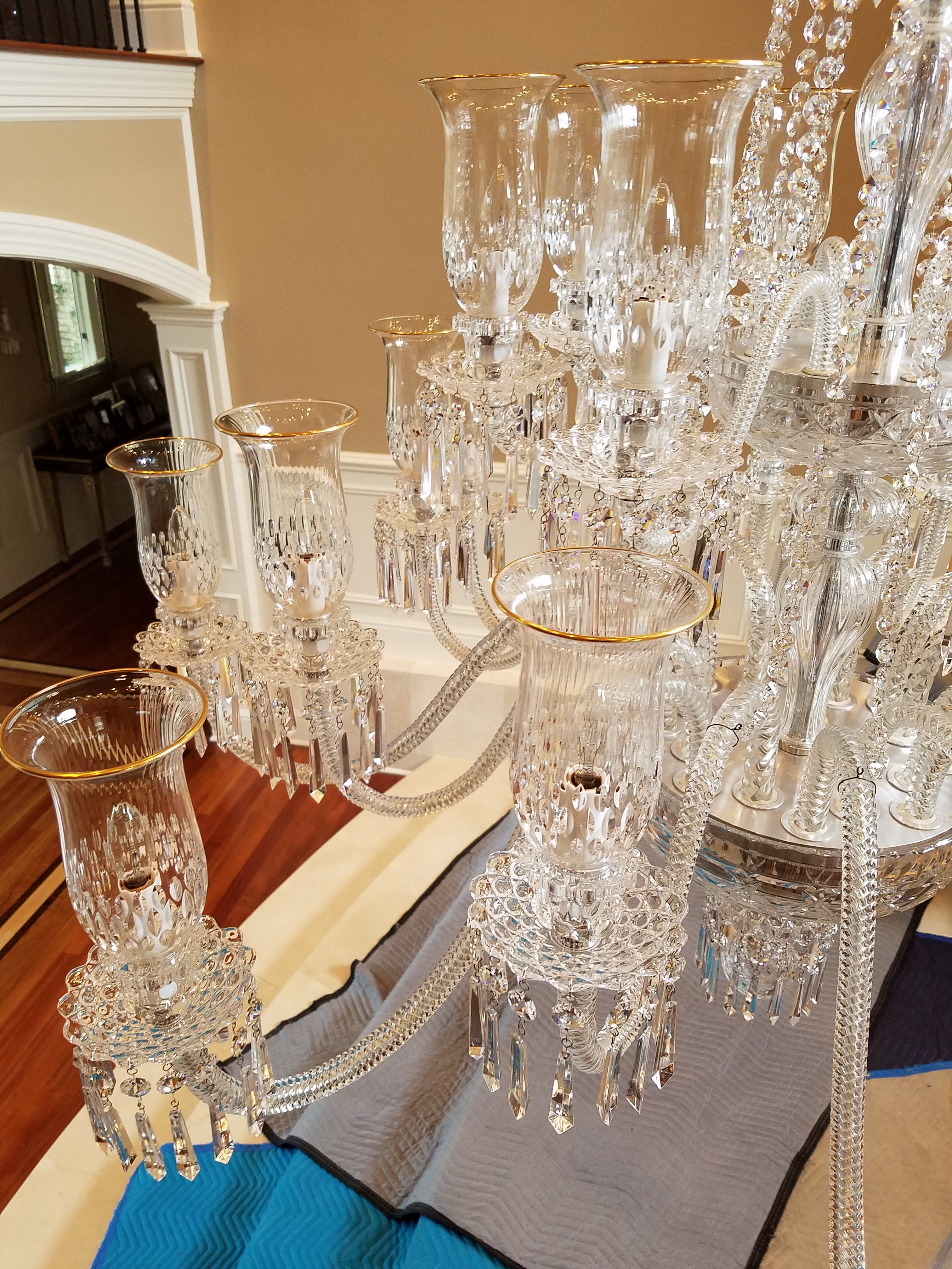 Chandelier Restoration Manhattan Ny Expert Lighting Inc Cleaning And Rewiring Chandeliers After